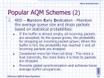 popular aqm schemes 2