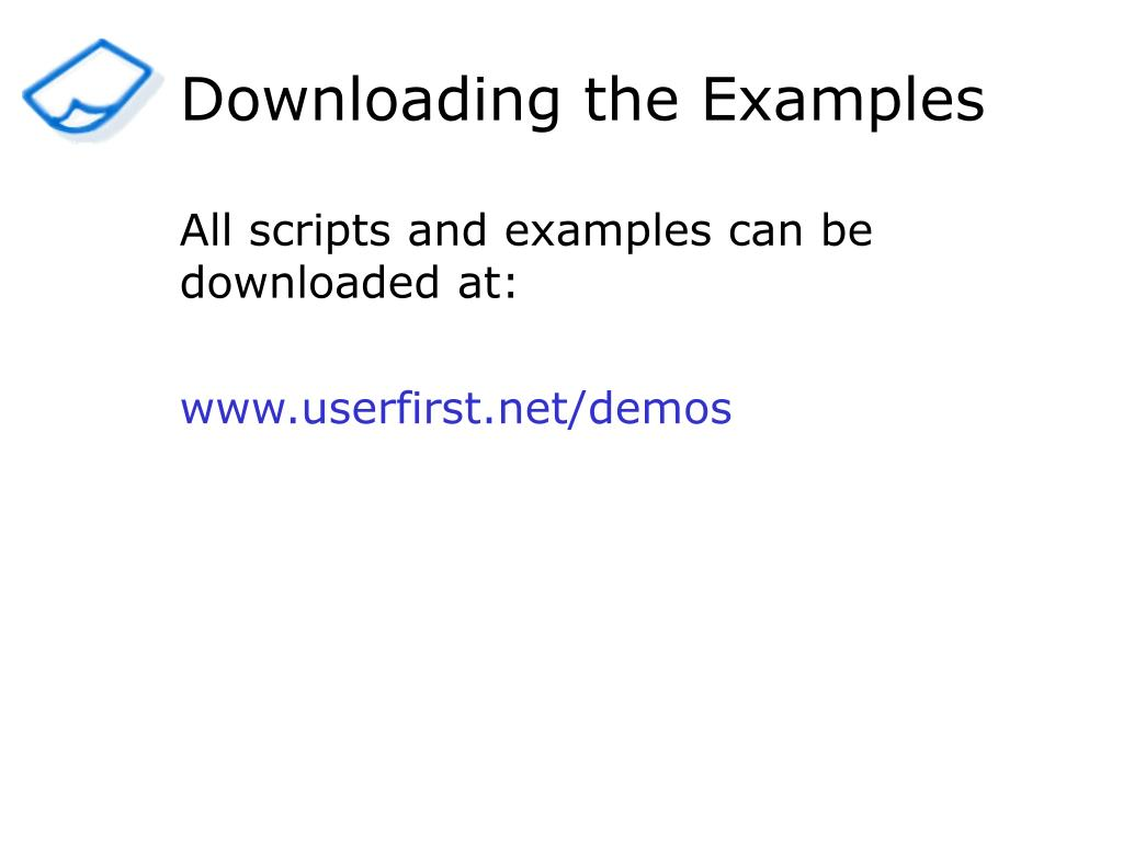 Downloading the Examples