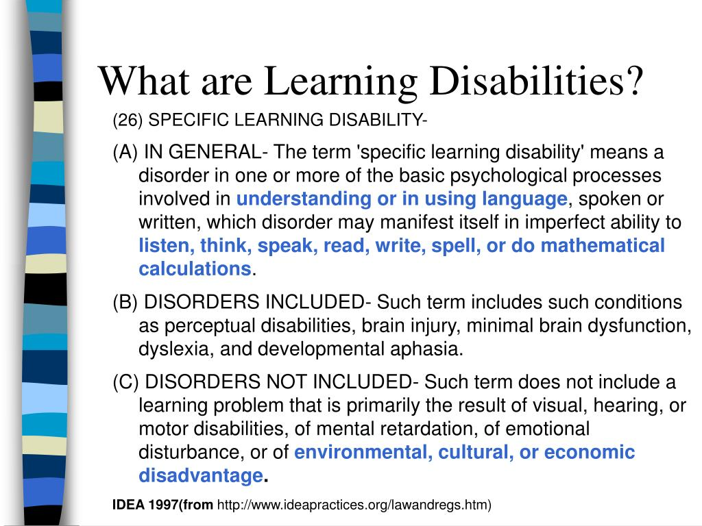 the learning disability of specific developmental dyslexia Specific learning disability professional learning specific learning disability means a disorder in one or more of the basic dyslexia, and developmental.