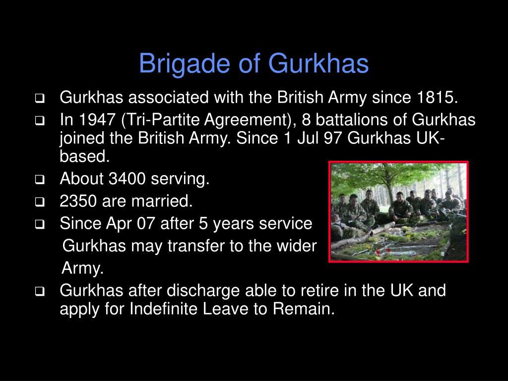 Brigade of Gurkhas