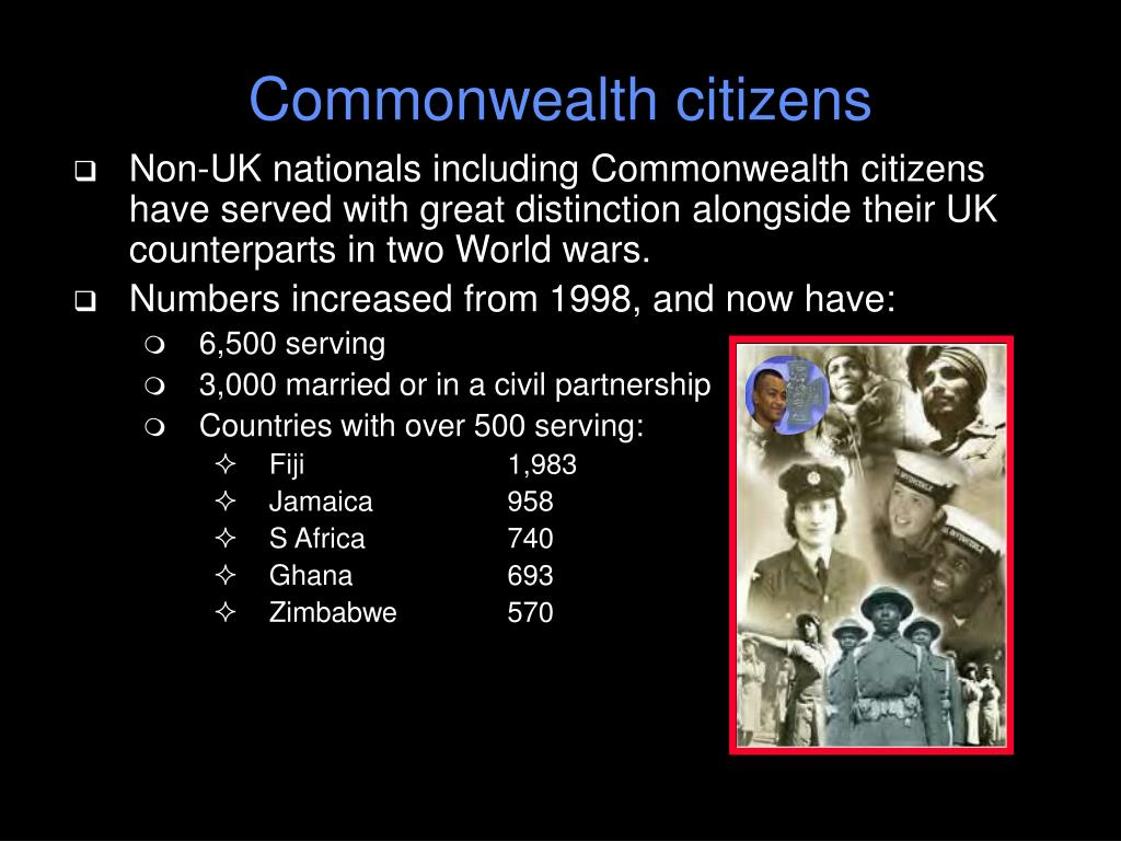 Commonwealth citizens