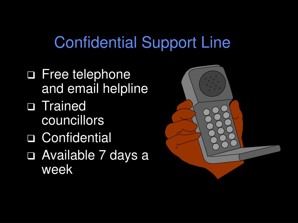 Confidential Support Line