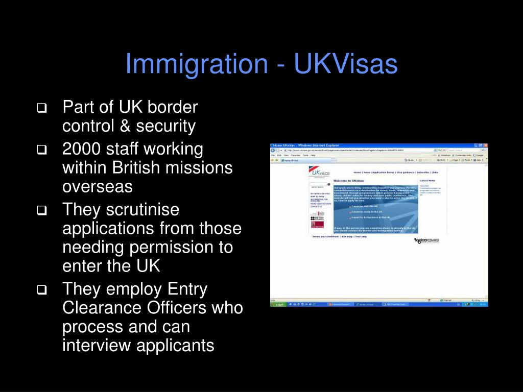 Immigration - UKVisas