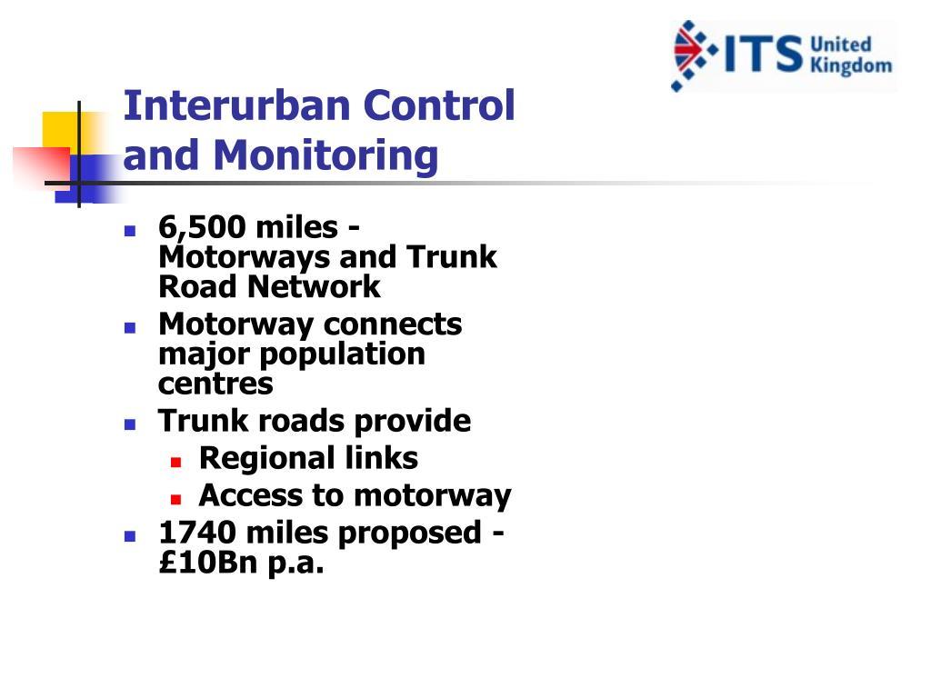 Interurban Control