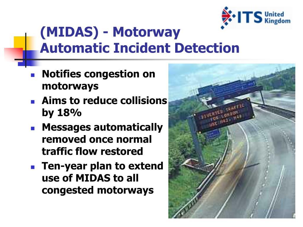 (MIDAS) - Motorway