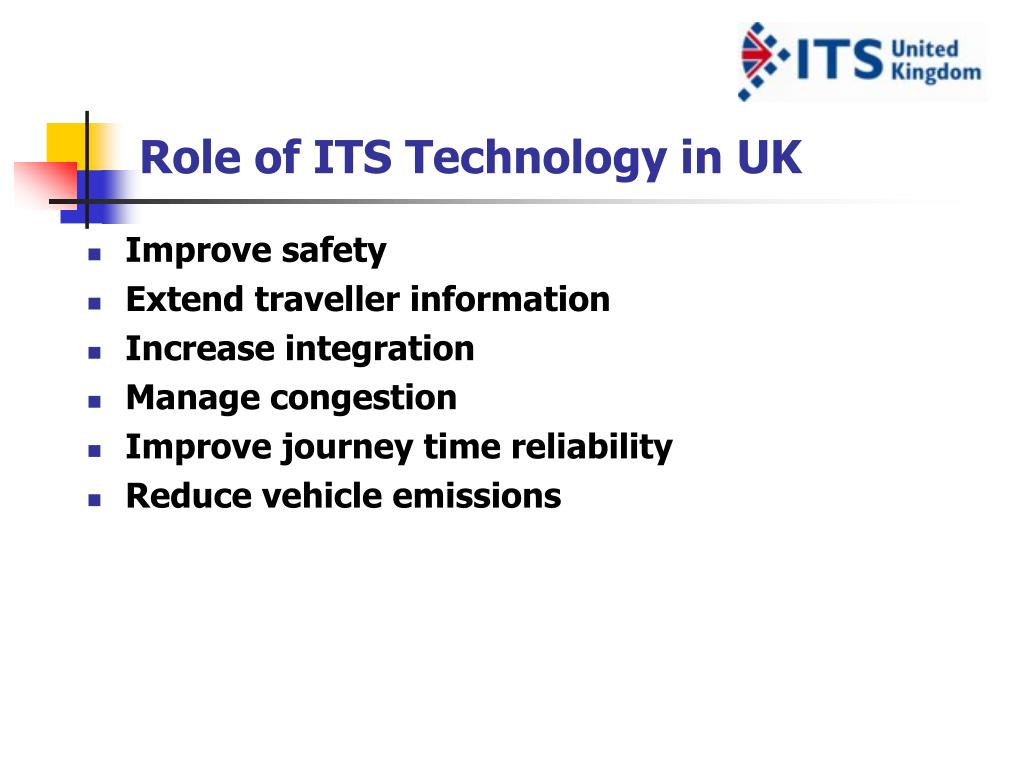 Role of ITS Technology in UK