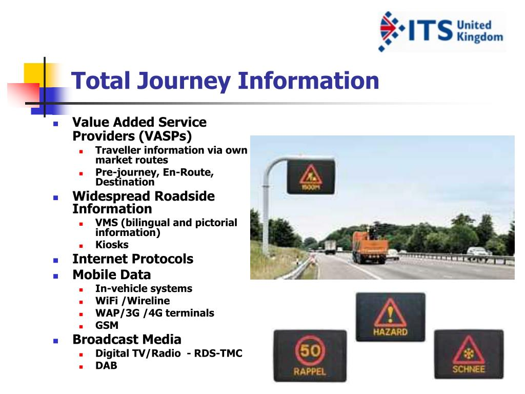 Total Journey Information