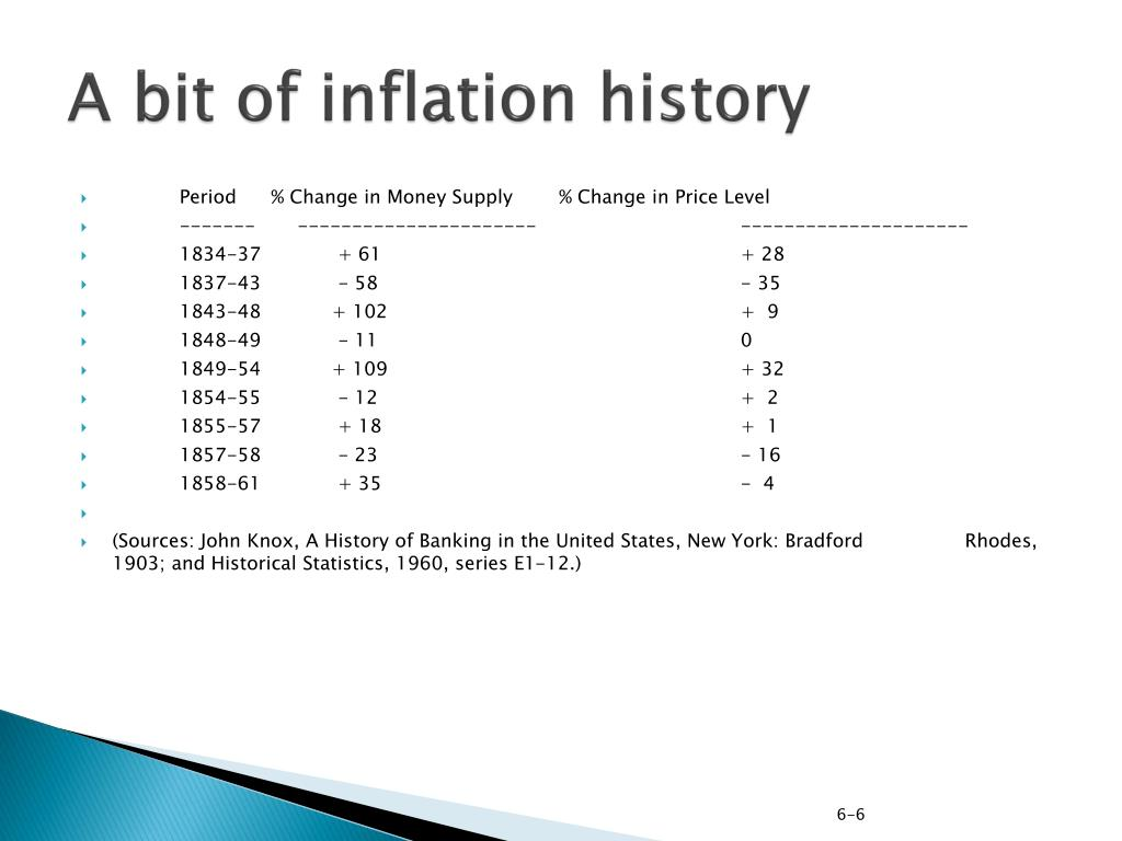 A bit of inflation history