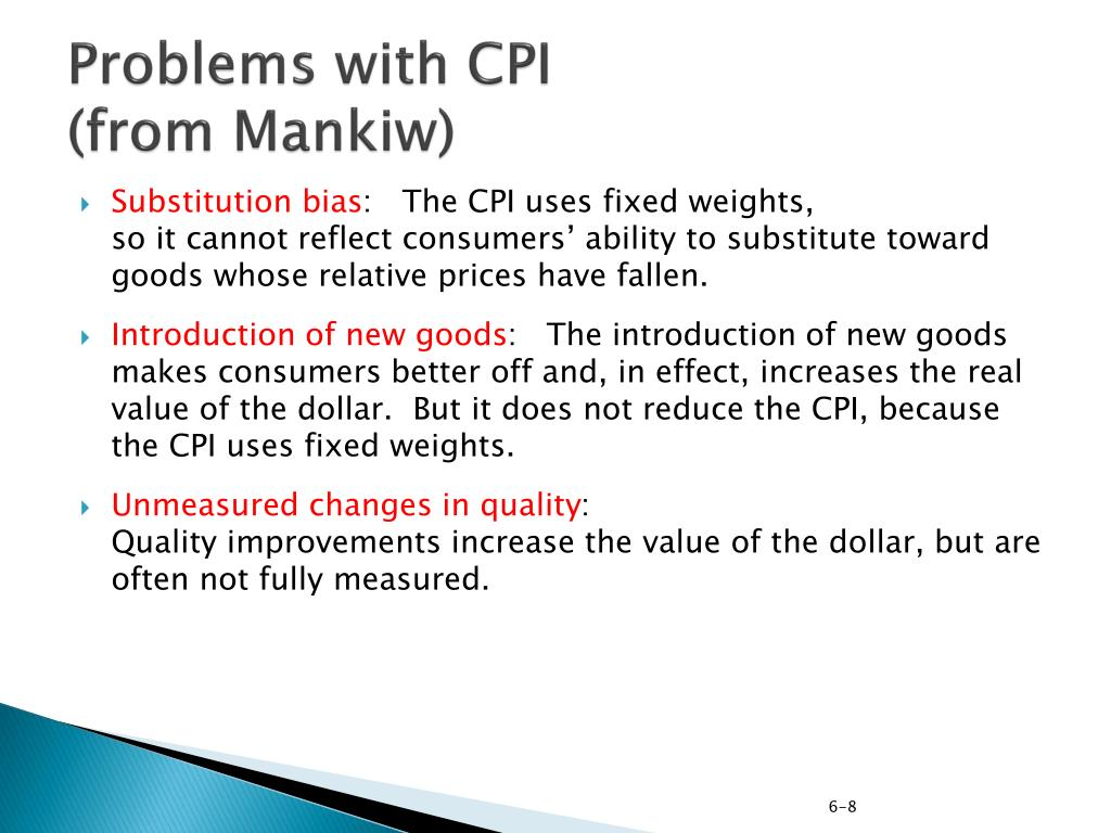 Problems with CPI