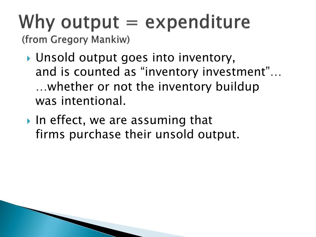 Why output =