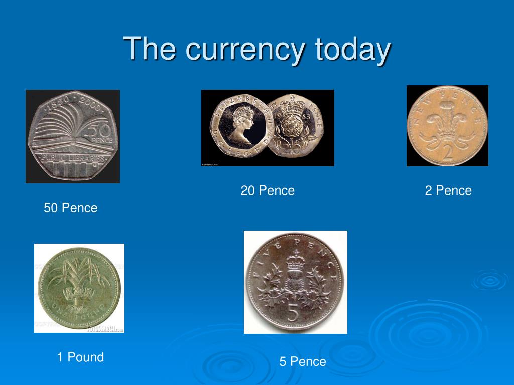 The currency today