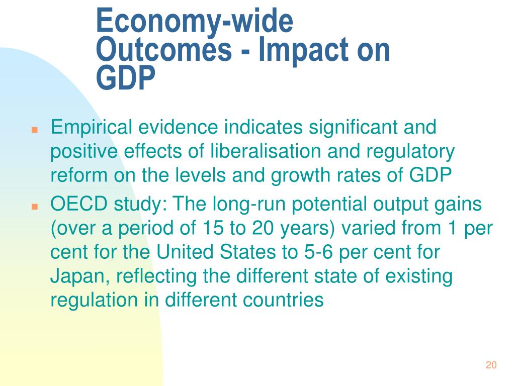 Economy-wide Outcomes - Impact on GDP