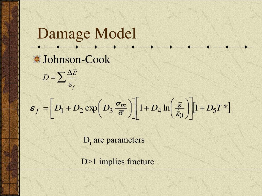 Damage Model