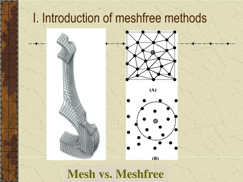 I. Introduction of meshfree methods