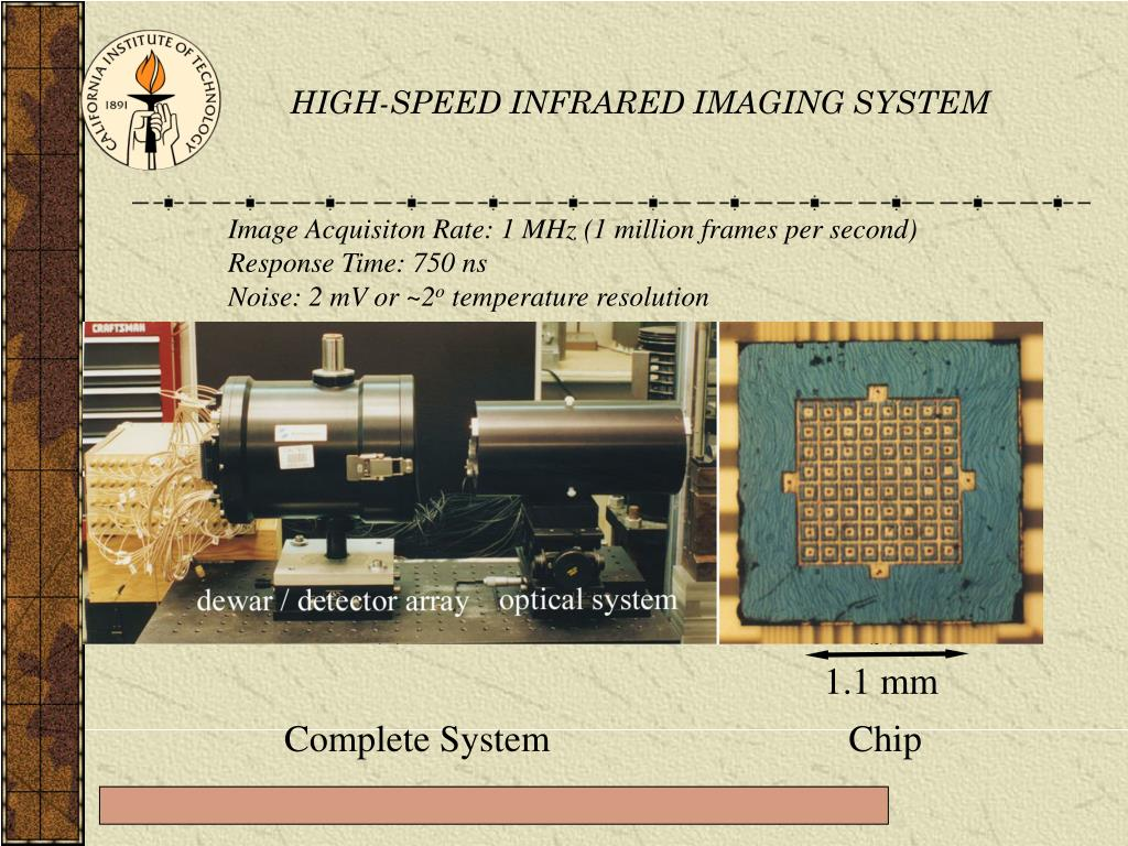 HIGH-SPEED INFRARED IMAGING SYSTEM