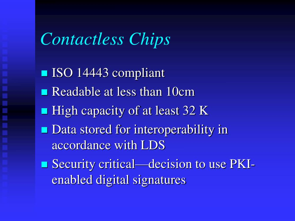 Contactless Chips