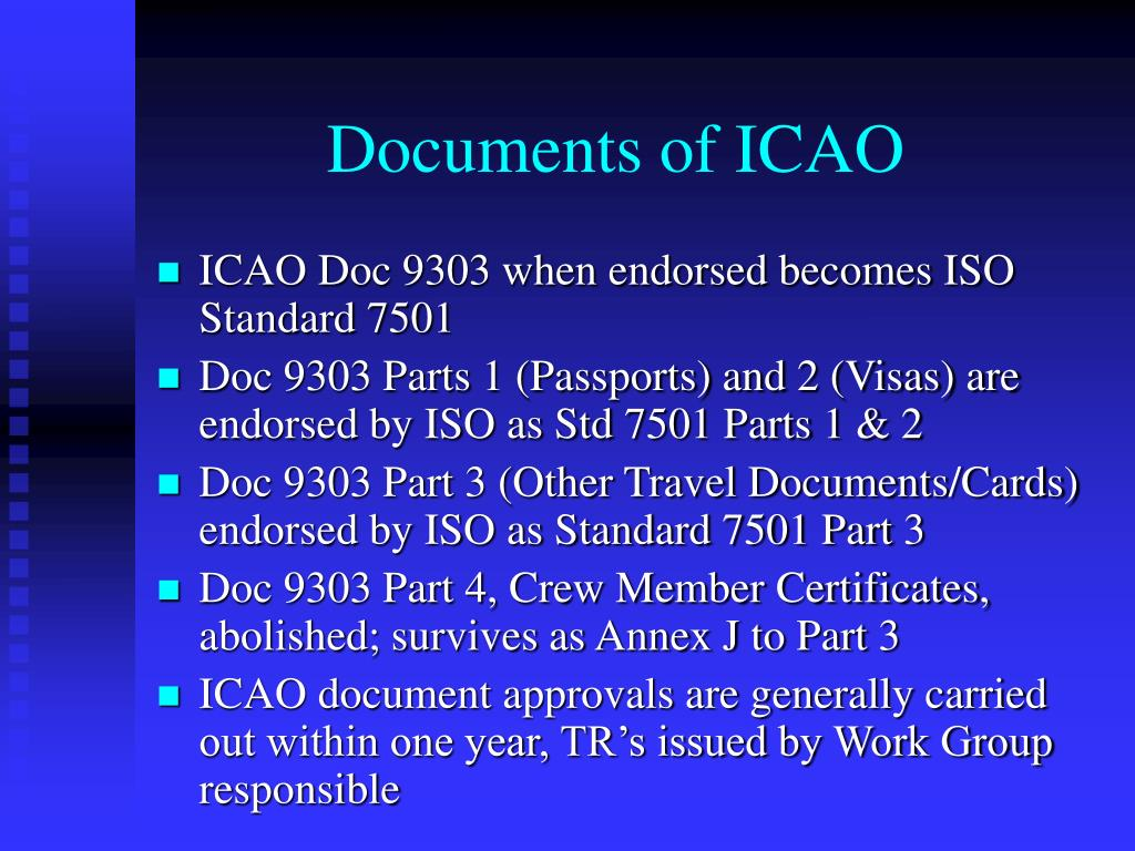 Documents of ICAO