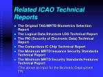 related icao technical reports