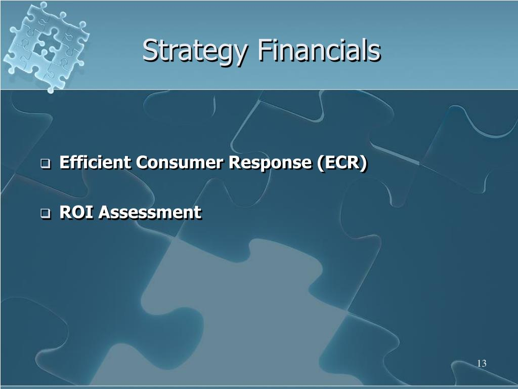Strategy Financials