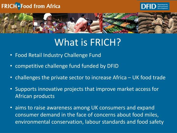 What is FRICH?