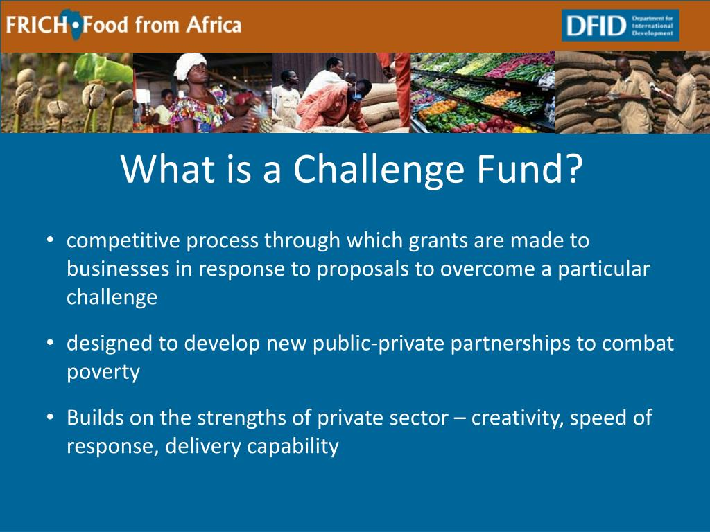 What is a Challenge Fund?