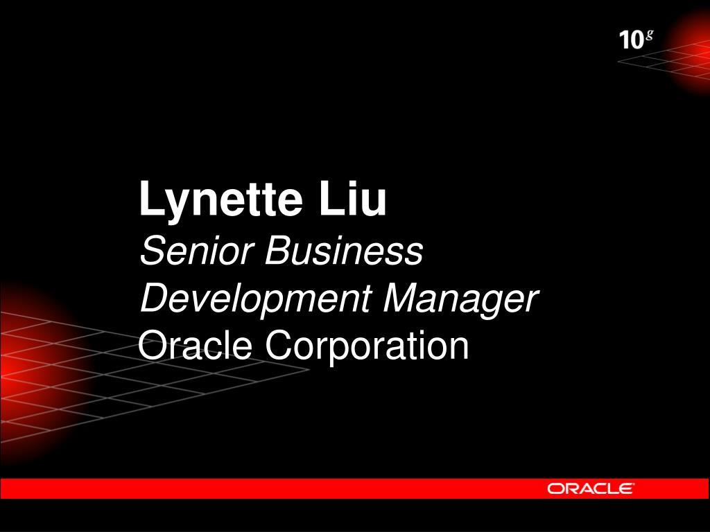 Lynette Liu