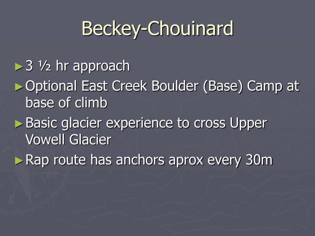 Beckey-Chouinard