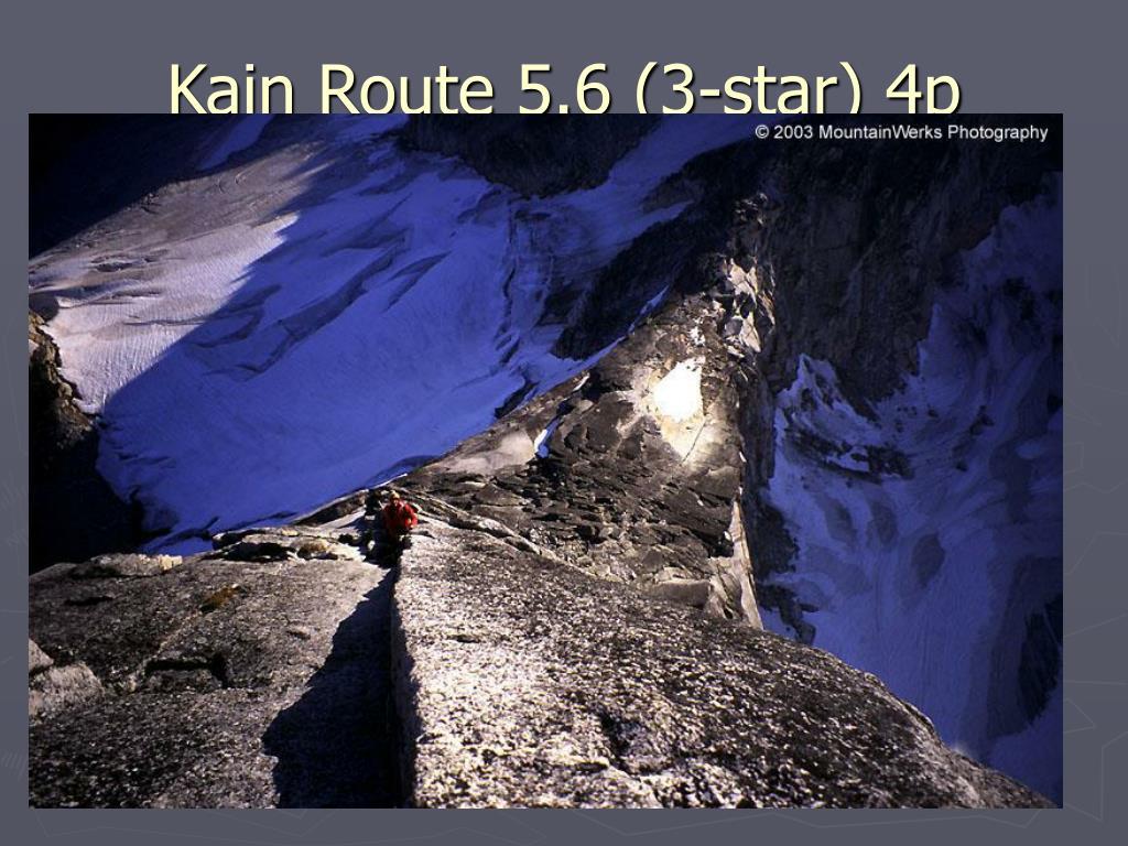 Kain Route 5.6 (3-star) 4p