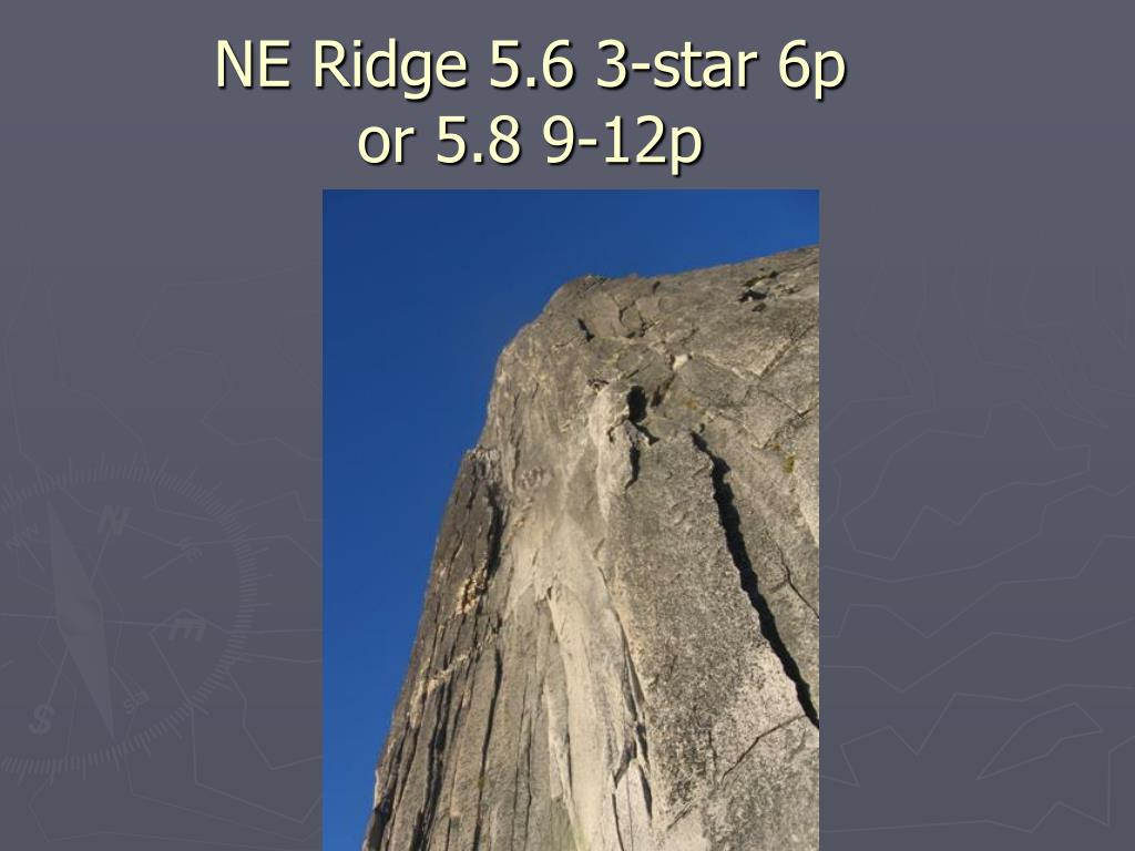 NE Ridge 5.6 3-star 6p
