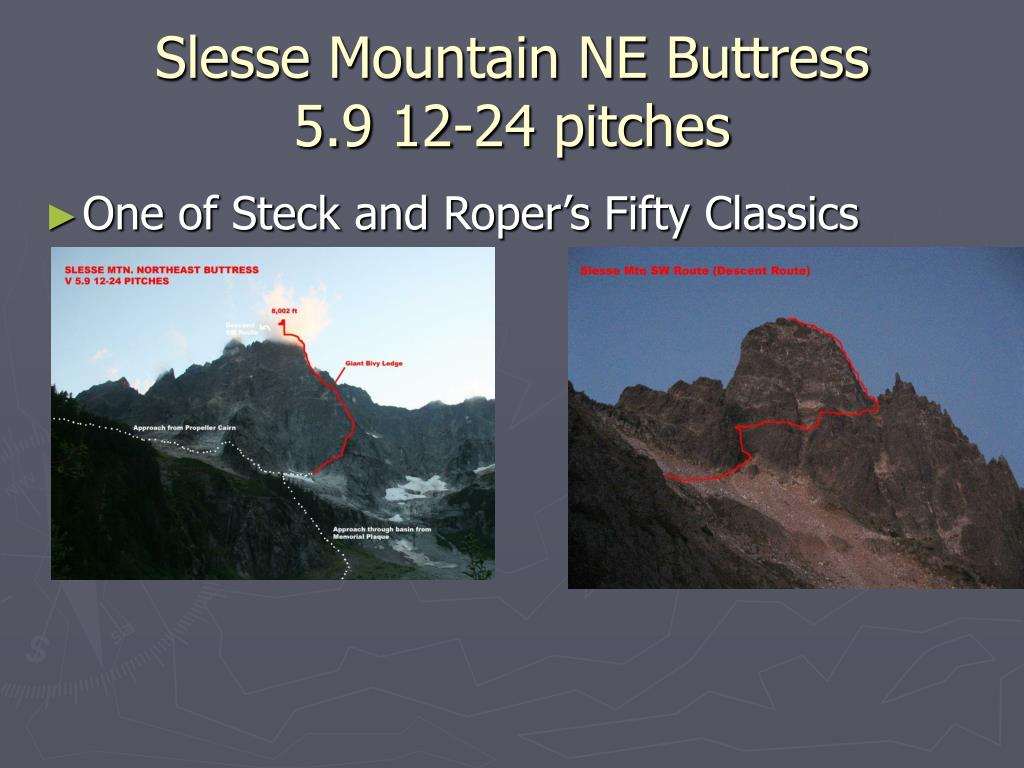 Slesse Mountain NE Buttress