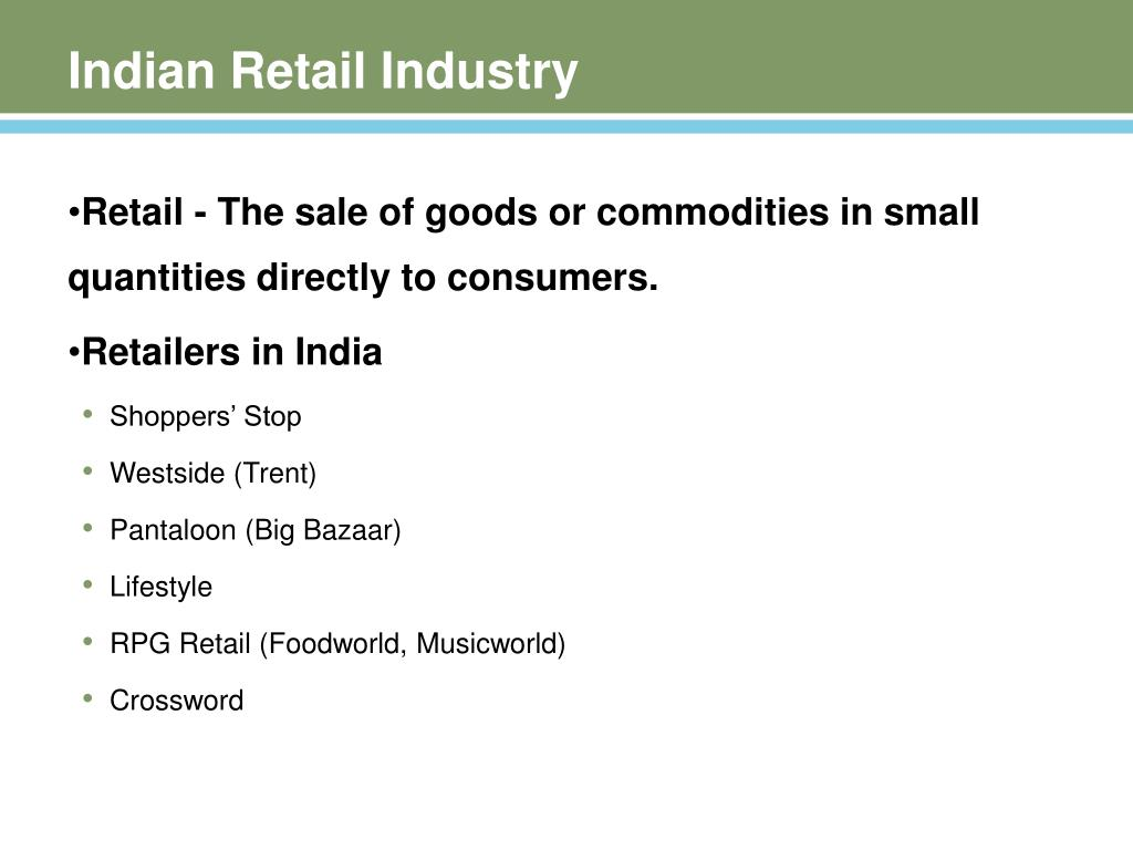 Indian Retail Industry