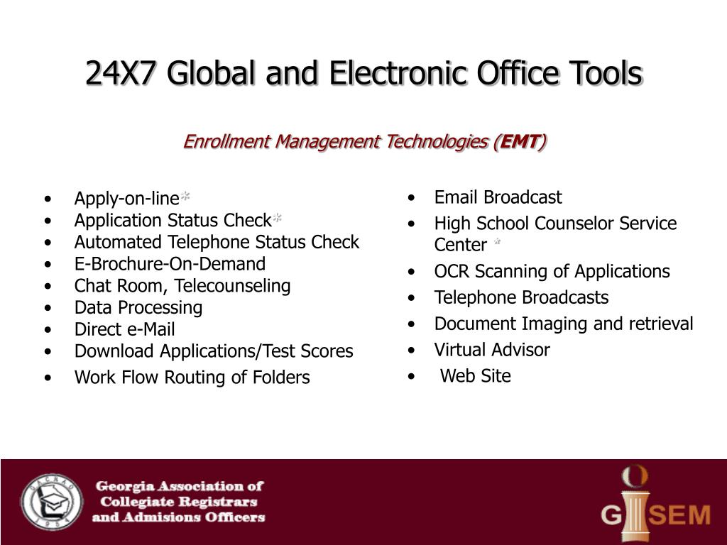 24X7 Global and Electronic Office Tools