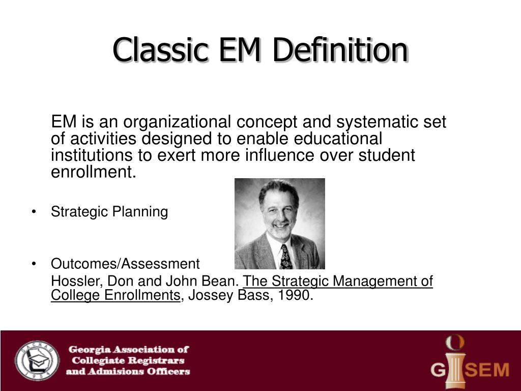 Classic EM Definition