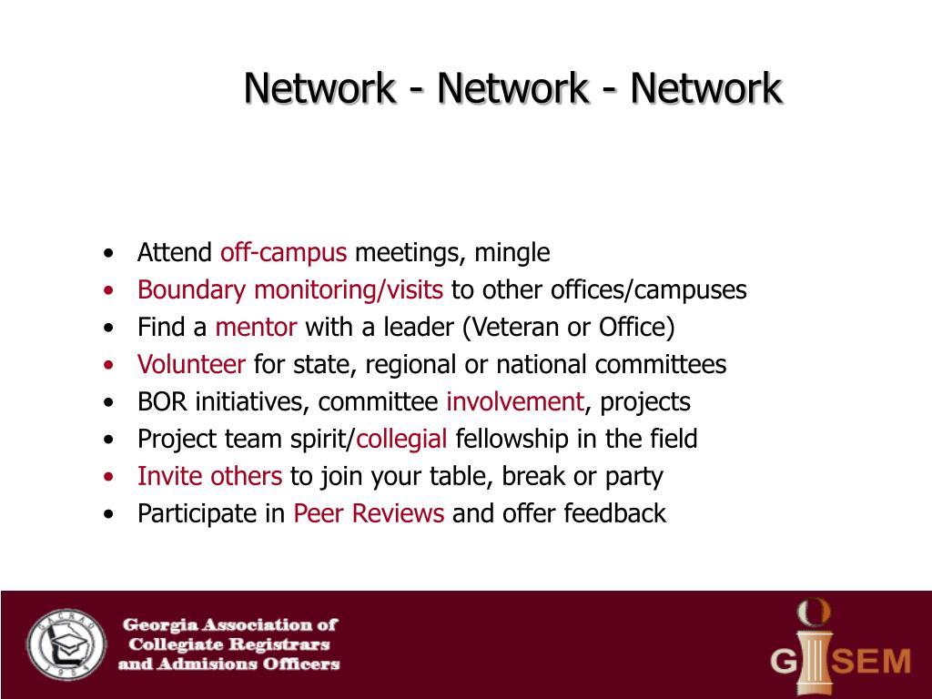 Network - Network - Network