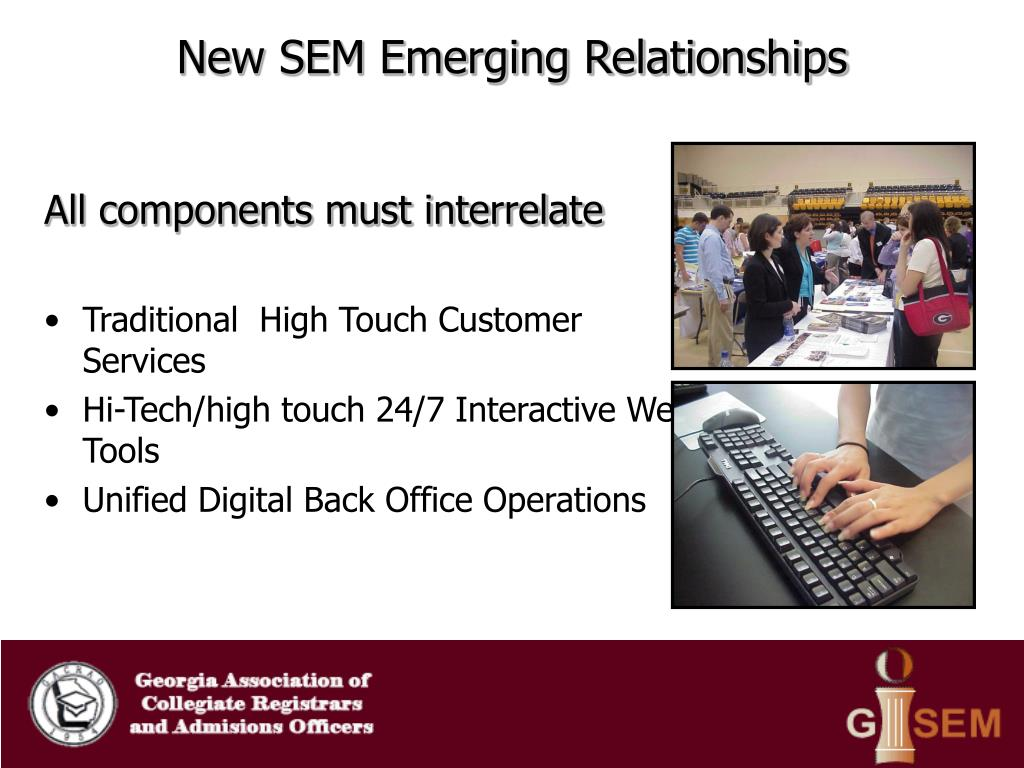 New SEM Emerging Relationships