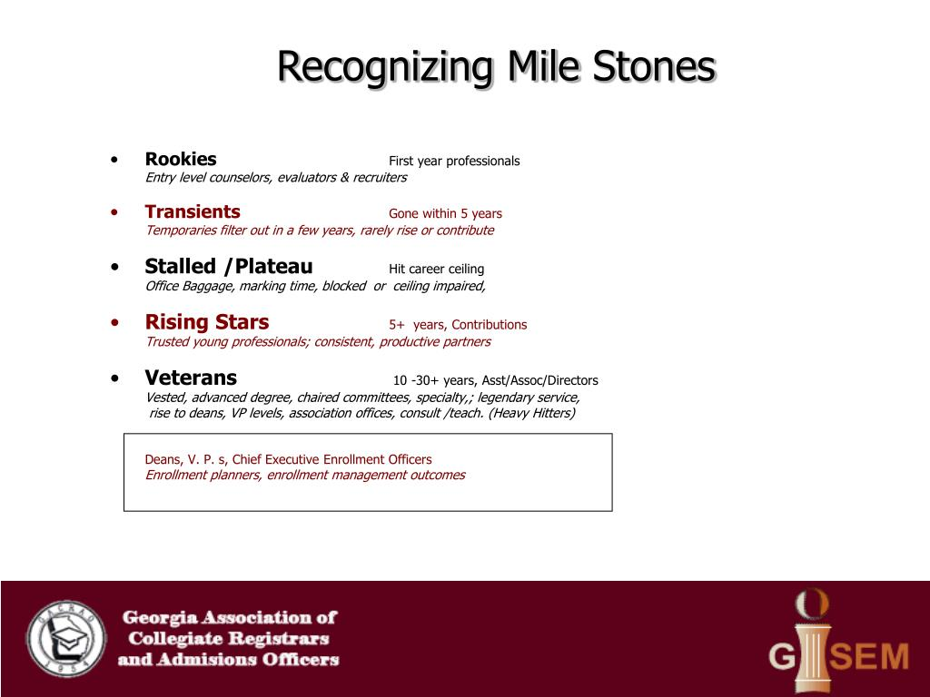 Recognizing Mile