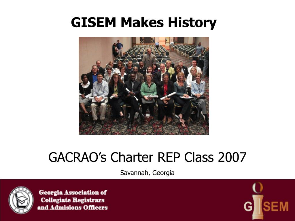 GISEM Makes History