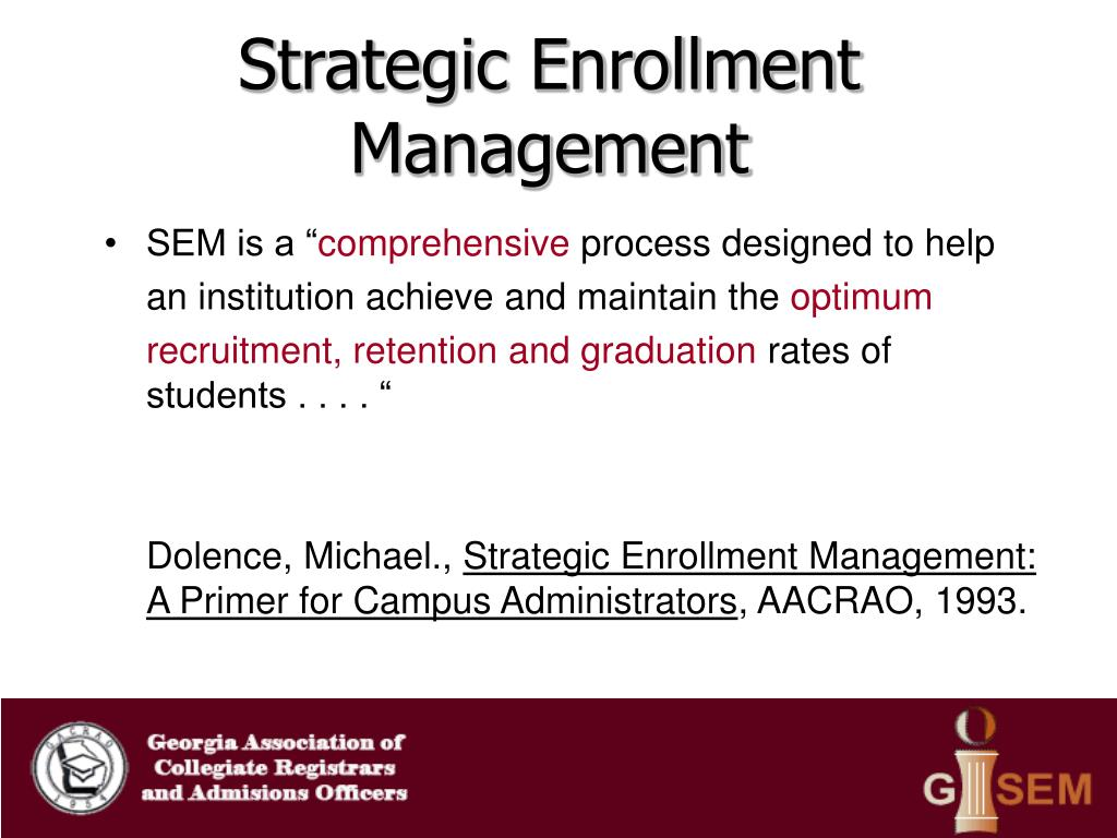 Strategic Enrollment Management