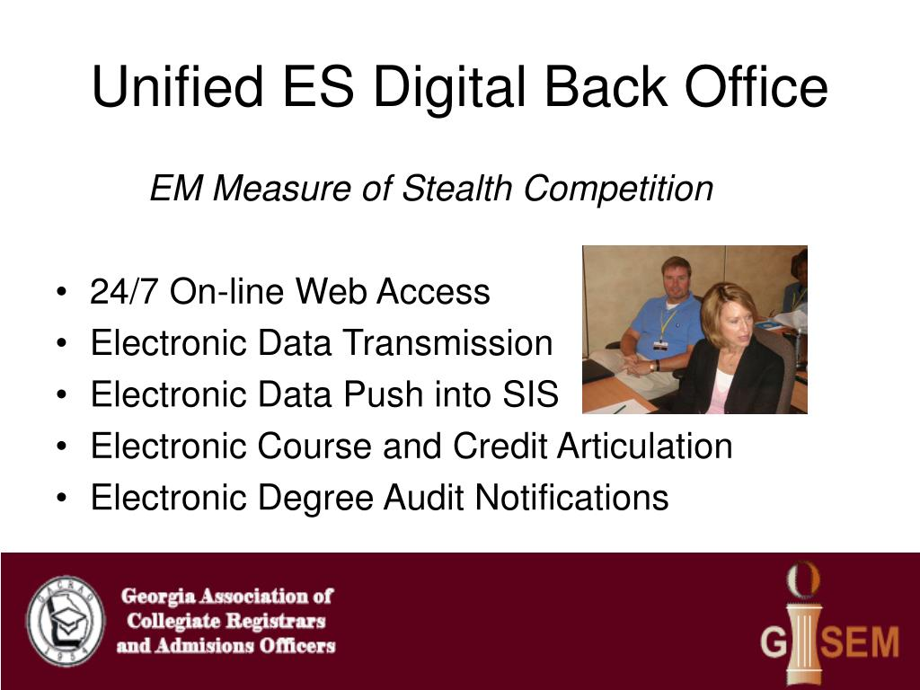 Unified ES Digital Back Office