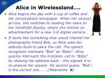alice in wirelessland