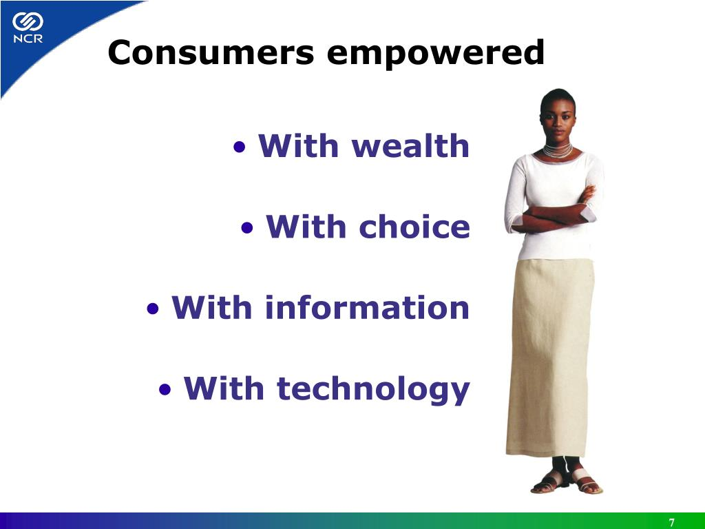 Consumers empowered