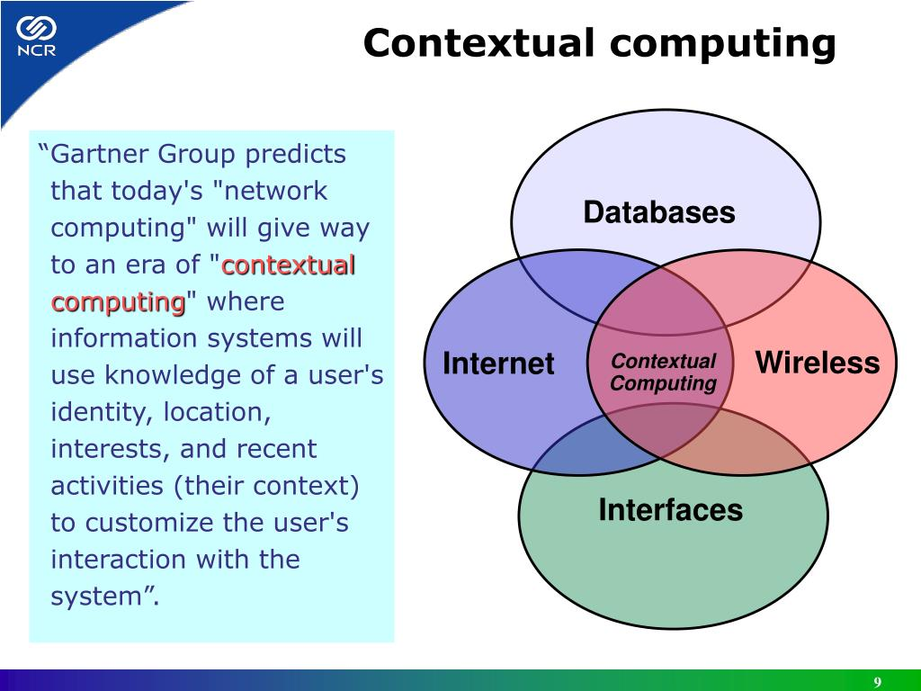 """Gartner Group predicts that today's ""network computing"" will give way to an era of """