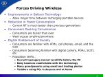 forces driving wireless
