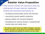 retailer value proposition