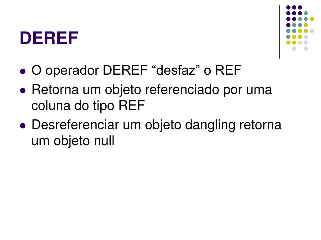 DEREF