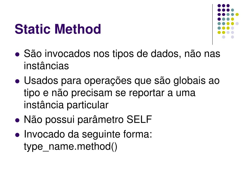 Static Method