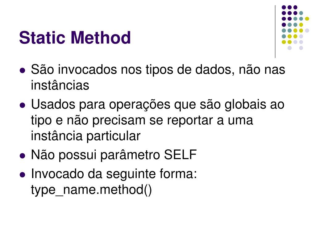 Static Method