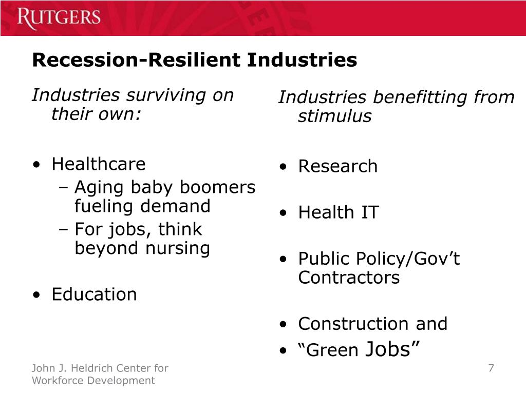 Recession-Resilient Industries