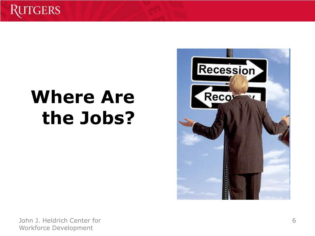 Where Are the Jobs?