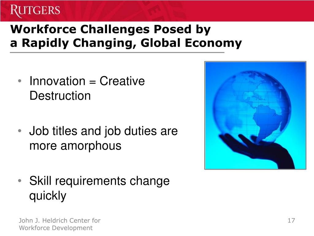 Workforce Challenges Posed by